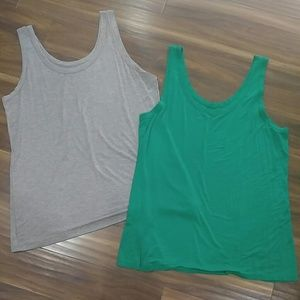 Two layering tanks